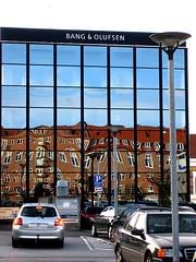 Bang & Olufsen - Aalborg (Mythic Ink) Tags: reflection brick architecture denmark bo aalborg