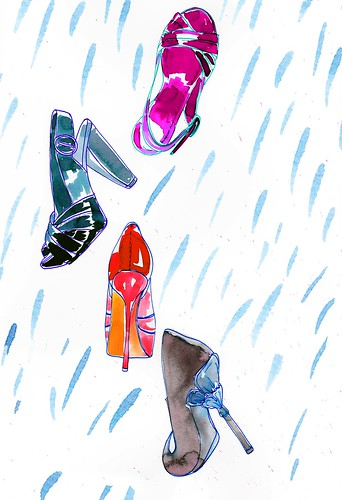 raining shoes
