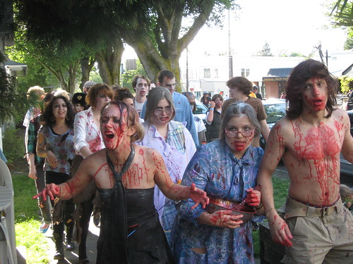 A lovely day for a stroll, even for the undead.