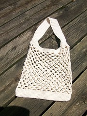 crocheted cotton wakefield market tote (evereeve) Tags: bag market crochet cotton tote