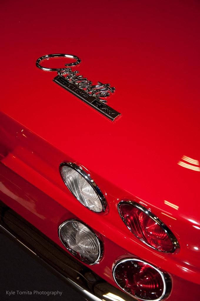 1964 Corvette rear