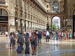 Milan summer (angelocesare) Tags: morning light people sun milan hot warm gallery gente milano streetphotography july explore sole luce galleria mattino luglio caldo galleriavittorioemanueleii angeloamboldiphotos
