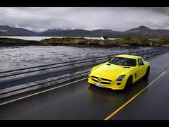 2010 Mercedes-Benz SLS AMG E-Cell