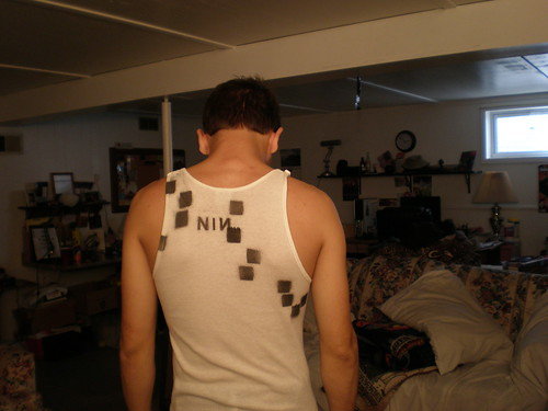 NIИ sleeveless (Back)