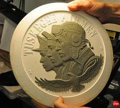 Tuskegee Airmen Coin Clay Cast