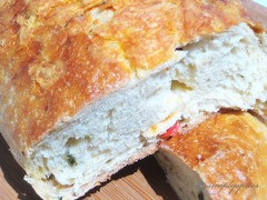 Jalapeno Cheddar Cheese Bread