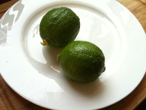 Limes, just picked