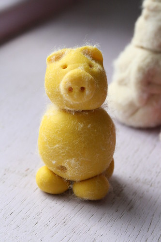 Project 365 #190: 090710 Hairy Yellow Pig