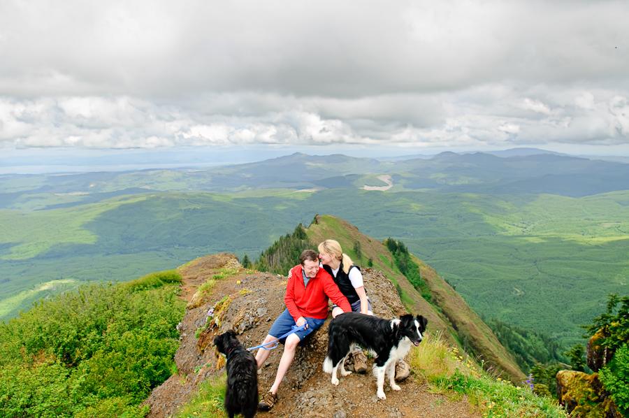leigh ron saddle mountain engagement