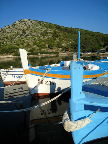 Fishing boats near Kornati - Dugi Otok