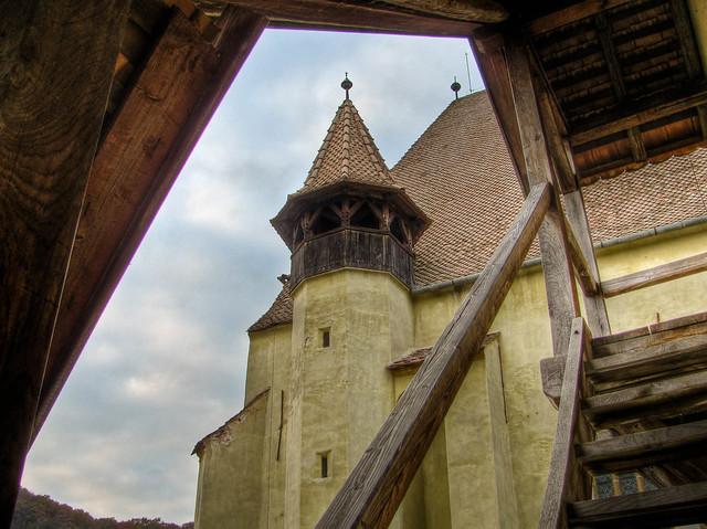 Saxon fortified church of Biertan