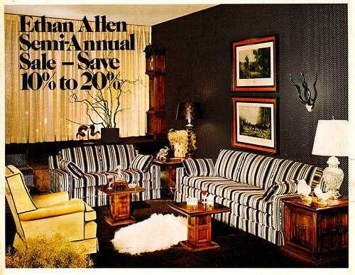 1975 Ethan Allen Newspaper Insert