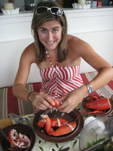 To eager to even wait for a full (lobster) body photo