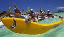 canoe paddlers