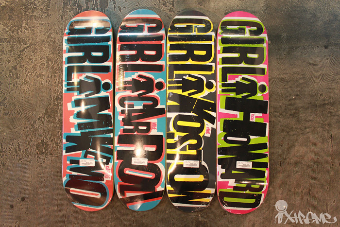 New Girl Big Series Fall 2010 Decks