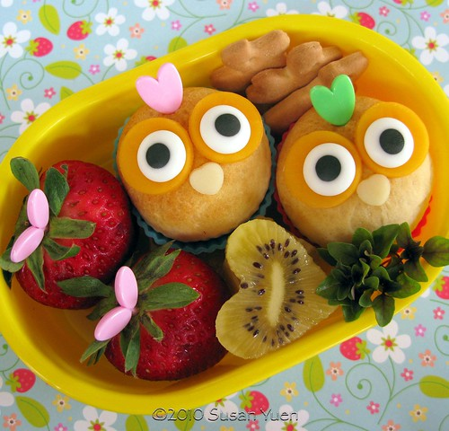 Mini Owl Biscuits