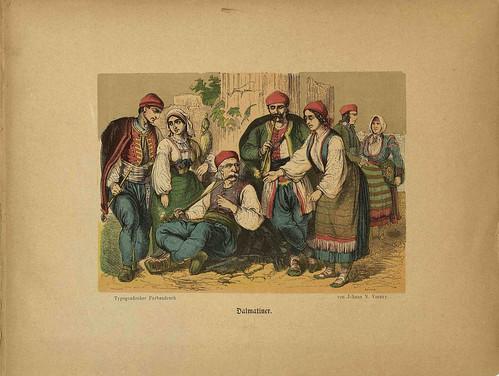 Oesterr-Ungarische Nationalitäten (Dalmatiner)