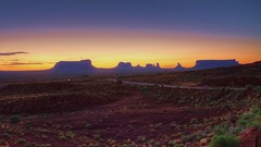Monument valley early this morning HDR (Rich pick) Tags: arizona usa monument sunrise utah us lodge valley hdr goldings