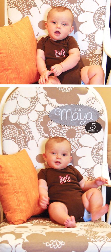 Maya 5 Months