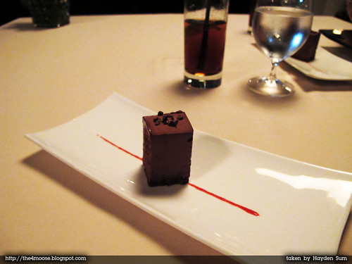 Forlino - Complimentary Chocolate Cake