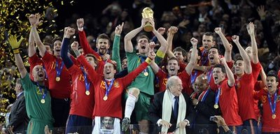 South Africa Soccer WCup Final Netherlands Spain by you.