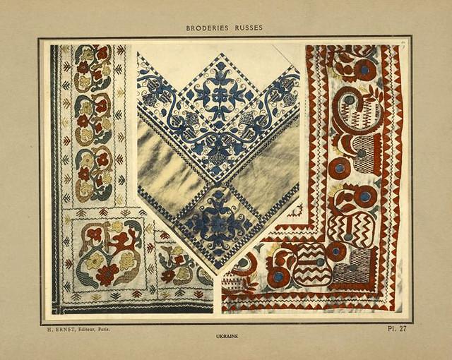 006-Manteles bordados-Ucrania-Broderies russes tartares armeniennes 1925