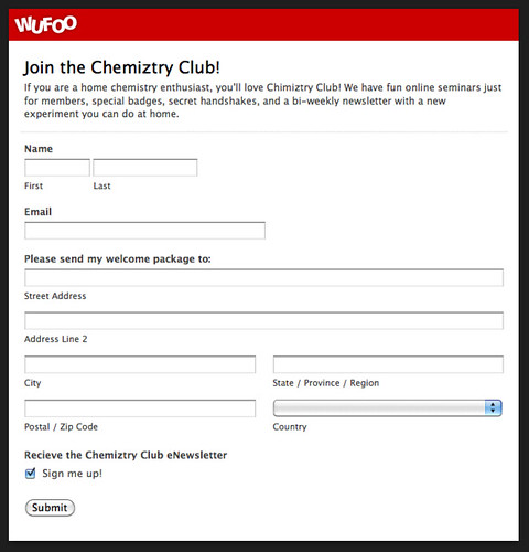 Join the Chemiztry Club!