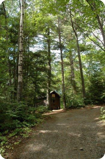 Camp Wabikon: our cabin