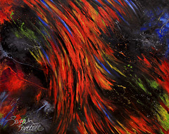 "Synesthesia Art: ""Spanish Bombs"" by The Clash (Little Lioness) Tags: fineart theclash synesthesia sociallyawkward spanishbombs deathofafriend artofthebrain synesthesiaart synestheteart synesthesiaartforsale coloredemotion artbysynesthetes synestheticart feelingascolor synesthesiapaintings neurologicalart colorinsanity savantart synesthesiamusic theclashartwork"
