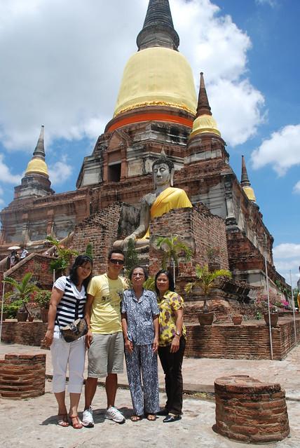 Minh - Tu - Mum - Ly - Ayuthaya - Bangkok