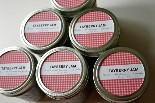 Tayberry Jams