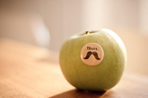 A moustache a day
