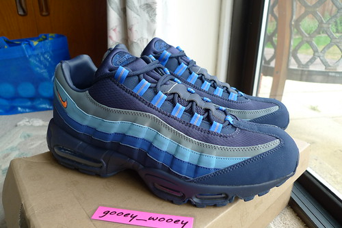 cheap for discount 401ef d68ca Nike Air Max 95 SI Meteor Blue JD Sports Exclusive .
