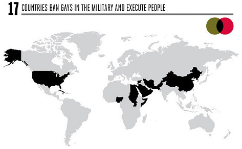 Nations that Ban Gays and Execute People
