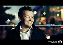Nick Hayward (Rick Nunn) Tags: street portrait glasses geek bokeh nick type hayward explored strobist p502 p502010