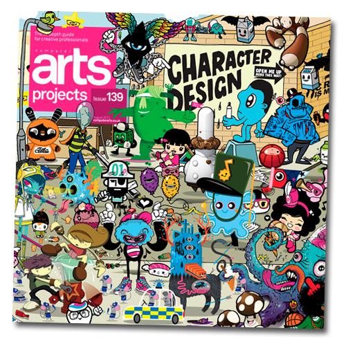Charuca en Computer Arts 139