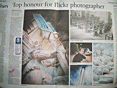 Flickr's in the press-Daily post Liverpool-For Terry (the red pill) (Mickmac37) Tags: me liverpool newspapers merseyside terrydonnelly