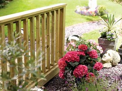 Classic Square Baluster Deck (Richard Burbidge) Tags: decks decking deckrailing deckboards wooddecking gardendecking richardburbidge deckingbalustrade deckingrails deckingbalustrades