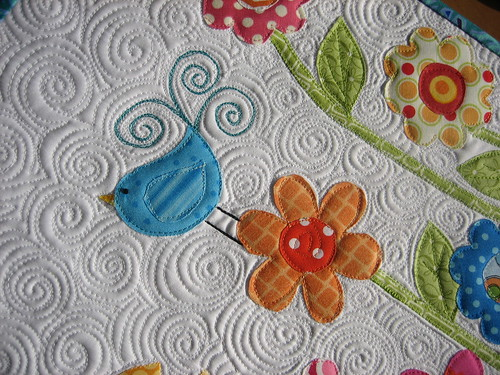 "Quilting Detail - ""Flowers"""