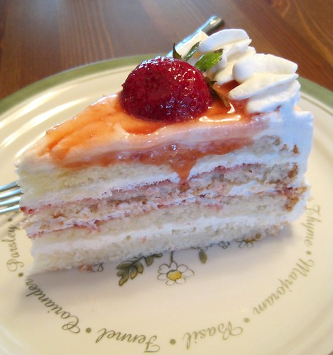 Genoise Layer Cake With Rum Syrup And Whipped Cream Frosting Recipes ...