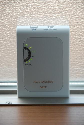 NEC Aterm WM3300R (UQ WiMAX)