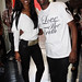 Kim Porter & Jackie Long wearing Love The Truth