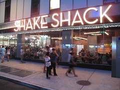 Shake Shack (Times Square) by ZagatBuzz, on Flickr