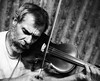 blind violinist (groovyrogue) Tags: bw musician music blind montreal violinist 2470 darkphotos 5dmk2