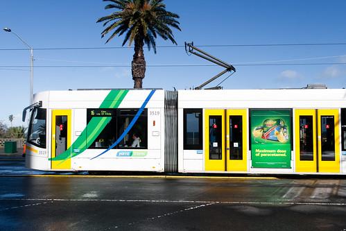 Tram in Melbourne, Australia