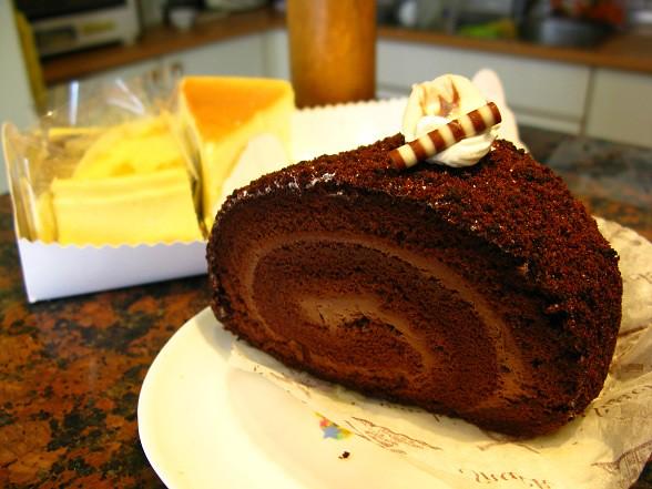 精緻蛋糕之巧克力捲