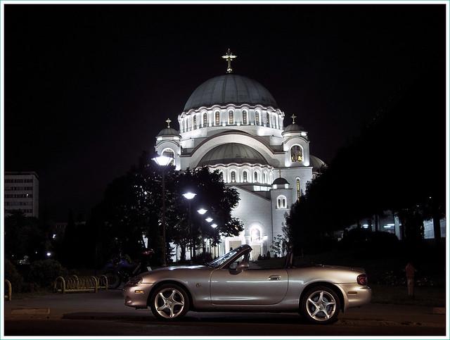 serbia belgrade miata beograd roadster srbija eunos mazdamx5 hramsvetogsave cathedralofsaintsava