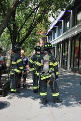 Firemen (thoth1618) Tags: nyc newyorkcity newyork brooklyn corner brooklynheights fireman firemen fdny firedepartment henrystreet brooklynny montaguestreet brooklynusa firedepartmentofnewyork cornerofhenryandmontaguestreets