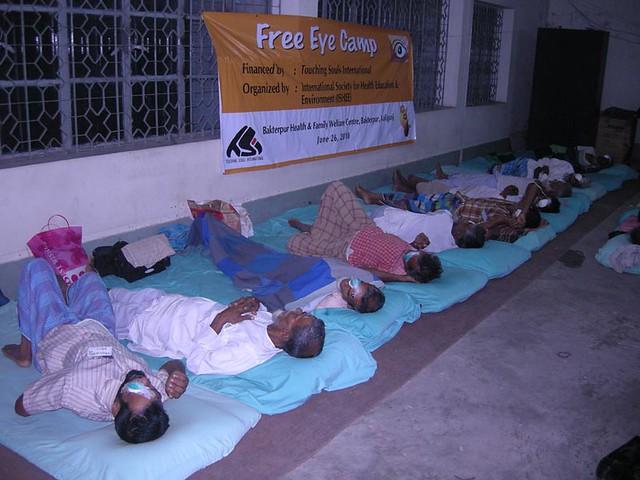 Eye camp in Baktiarpur Kaligonj Bangladesh 6262010 by Touching Souls International