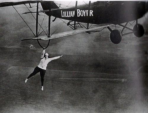 Lillian Boyer,stunt flying acrobat